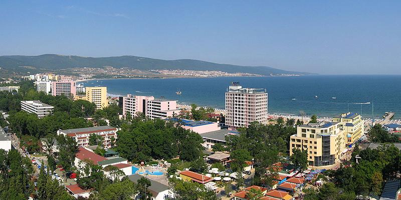 """Солнечная Болгария - мое первое путешествие """"за границу""""."""